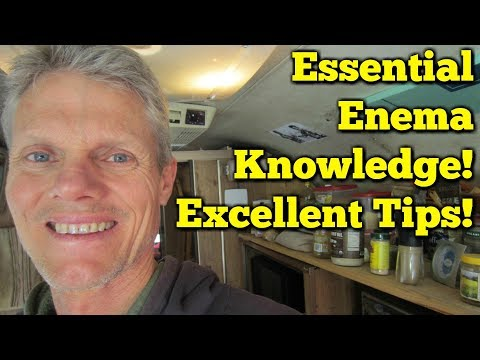 Enema How To - Enemas at Home!  Absolutely Essential Knowledge!