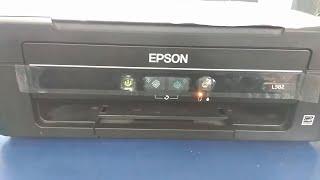 Epson L210 || L220 || L360 || L380 any model red light blinking