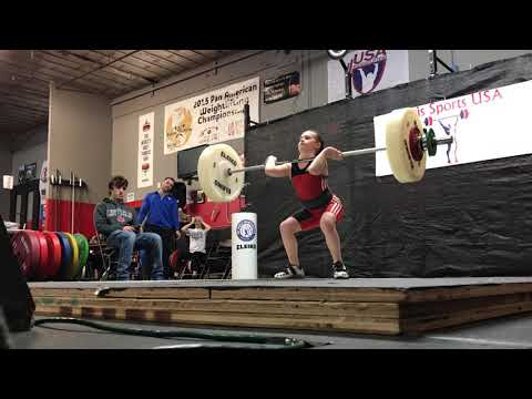 10 year old clean and jerk