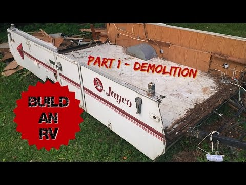 Building a small RV - Popup Demolition: Part 1