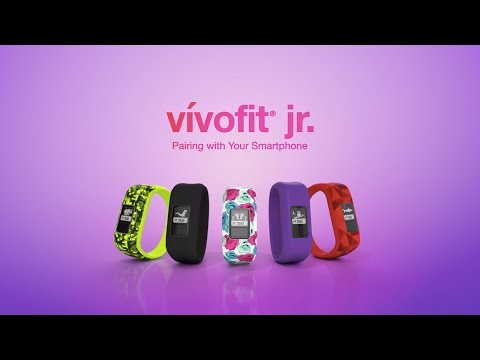 vívofit jr.: Pairing with Your Smartphone