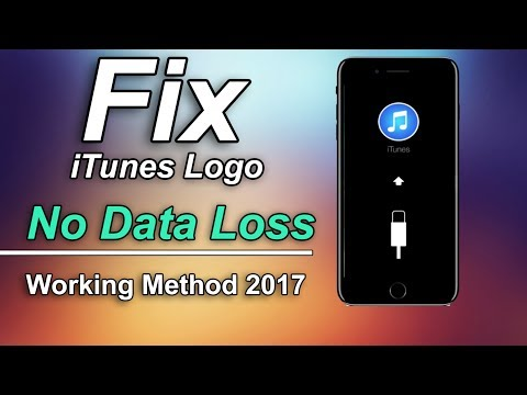 How to Fix Stuck At iTunes Logo, Bootloop, Recovery Mode, Stuck on Apple Logo - iPhone X/8/7/6/5/4