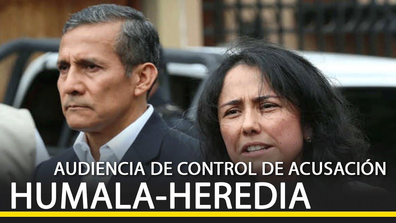 #DirectoEnDirecto Audiencia de control de acusación contra Ollanta Humala y Nadine Heredia