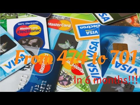 How my credit score boost from 474 to 701 in only 6 months!!