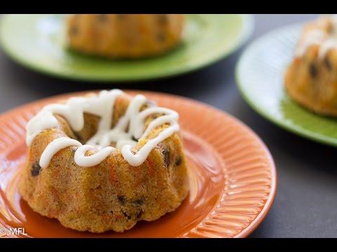Mini Carrot Rum Cake