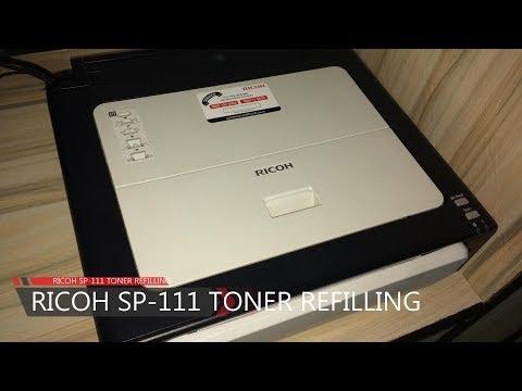 Ricoh SP 111 Toner Refilling