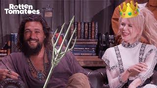 Aquaman UNCUT Comic-Con Interview   Rotten Tomatoes