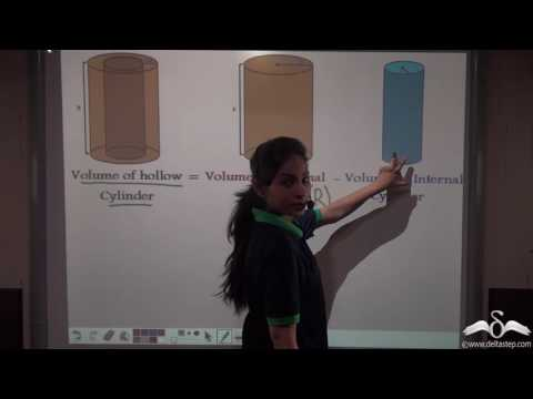 Volume of Hollow Cylinder