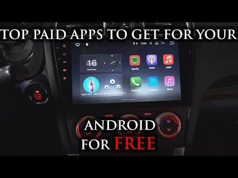 Top Cracked Apps for your Android head unit! (Paid Services for Free)