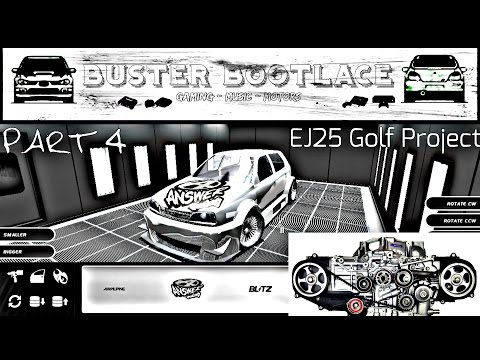 Buster Plays: Street Legal Racing Redline 2.3.1 (SLRR) Projects - Part 4 EJ25 Golf