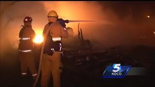 Oklahoman helping fight California wildfires