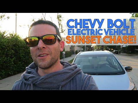 Chevy Bolt EV 🔌 California Coast Quick Road Trip In My Uber / Lyft Rental! 🚙