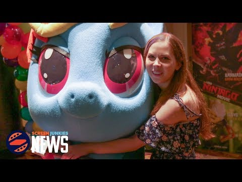 My Little Pony SUPER-FAN Gets SURPRISED at Movie Premiere!