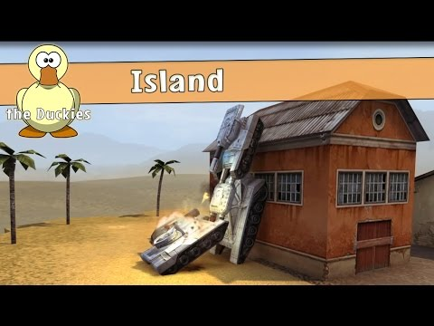 Tanki Online   Parkour For Beginners Island   The Duckies
