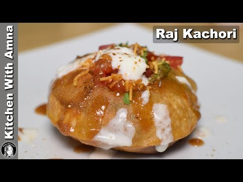 Raj Kachori Recipe - Special Ramadan Recipe - Kitchen With Amna
