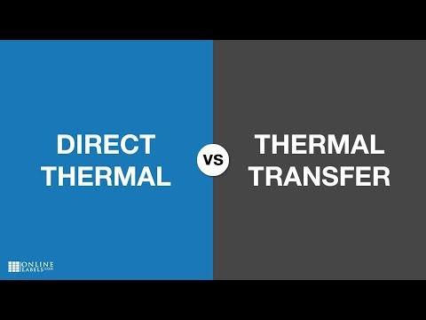 Direct Thermal Vs. Thermal Transfer: What's the Difference?