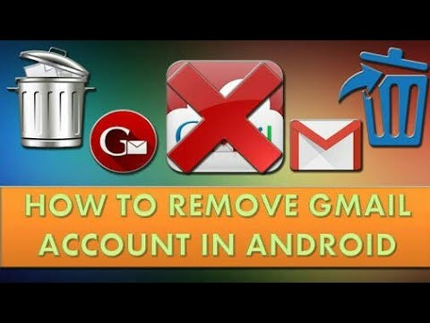 How to remove G-mail account , in anroid phone