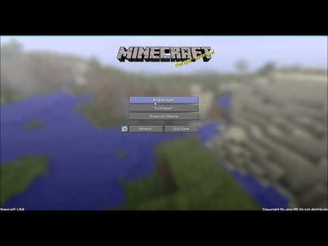 How To Install Texture Pack For Minecraft 1.8.1 - 1.12