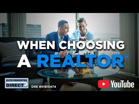 When Choosing a Realtor HD 1