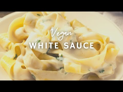 How To Make Creamy Vegan Alfredo/White  Sauce| Vegan | Korenn Rachelle