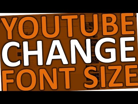 How To CHANGE FONT SIZE On YOUTUBE (Comments)