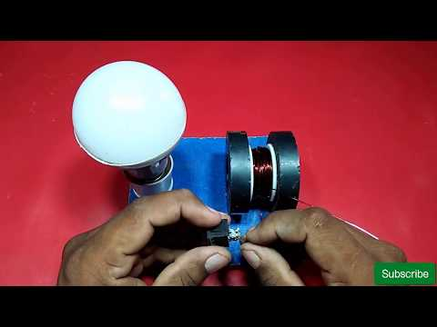 how to making power free energy generator with magnet and copper wire 100% real