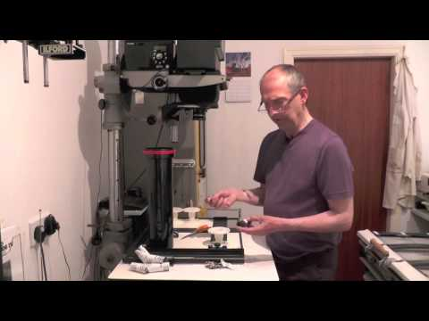 Black and white film processing Part 1 of 5 - loading processing reels and tanks