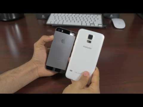 Samsung Galaxy S5 vs iPhone 5s: Cameras