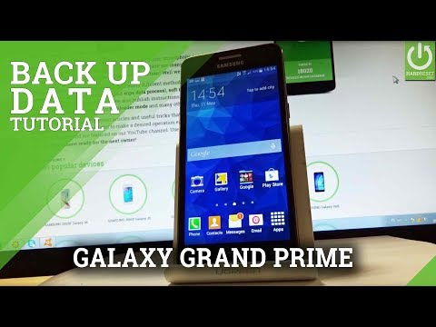 Enable Backup SAMSUNG Galaxy Grand Prime - Google Backup