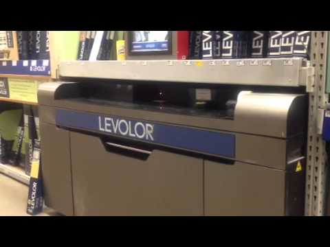 Levelor Blind Cutting Machine at Lowe's