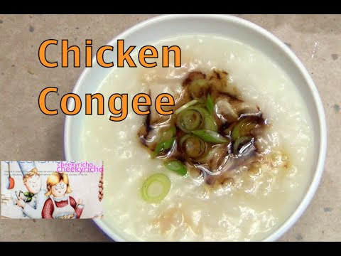 Chicken Congee a Rice Cooker Recipe cheekyricho video recipe episode 1,042