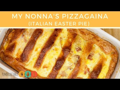 PIZZAGAINA | ITALIAN EASTER PIE | YumDelectable