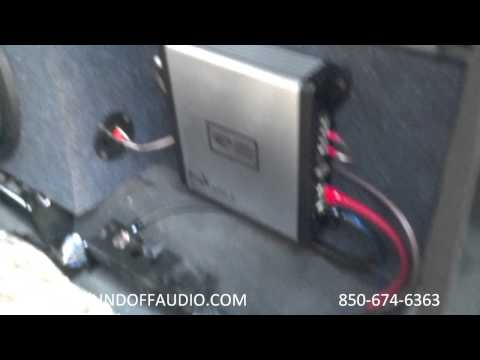 1/2 Ton 03-06 Chevy Crew CAB speaker box with Amprack