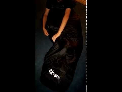 Easy to Carry Mummy Sleeping Bag by Egoz