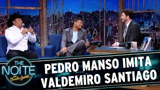 Pedro Manso imita Valdemiro Santiago   The Noite (24/05/17)