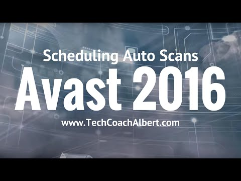 How To: Schedule Automatic Scan in Avast Antivirus 2016