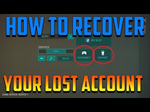 HOW TO RECOVER YOUR LOST ACCOUNT??  |  LAST DAY ON EARTH: SURVIVAL