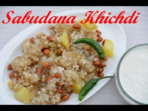 Navratri Recipe-Sabudana Khichdi-Tapioca Sago