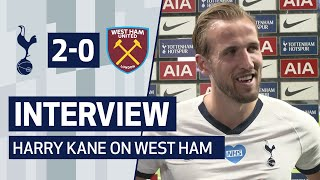 INTERVIEW | Harry Kane on West Ham Win