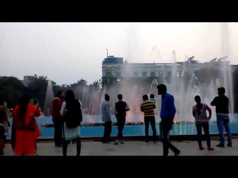 outdoor water fountain gurgaon  Leisure Valley Park