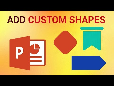 How to Add Images in Custom Shapes in PowerPoint 2016