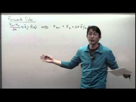 Lecture: Ordinary Differential Equations and Time-stepping