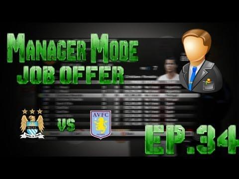 FIFA 13 - Career Mode - JOB OFFER