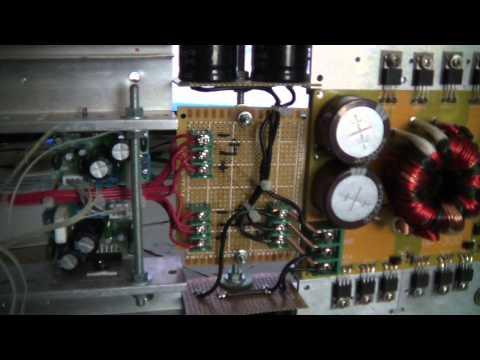 DIY 4CH Car audio amplifier 500W SMPS + TDA7294 - Update