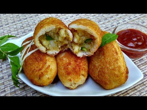 Bread Roll Recipe In Hindi By Indian Food Made Easy