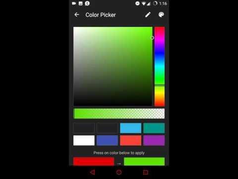 NavBar Icon Colors