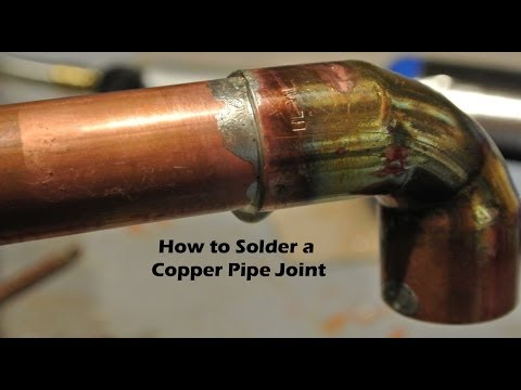 DYI How to Solder a Copper Pipe Joint