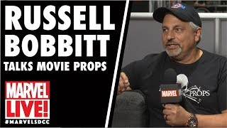 Russell Bobbitt Talks Props and Other Things on Marvel LIVE! at San Diego Comic-Con 2017
