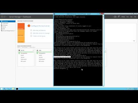 Remove a Child Domain from Root Domain running Windows Server 2012 R2 (Child Domain unavailable)