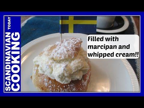 Semla - How To Make Swedish Semlor Buns - Fastlagsbulle